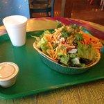 Huge taco salad!