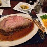 Thanksgiving prime rib dinner