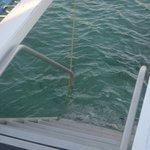 Cómoda entrada y salida del mar