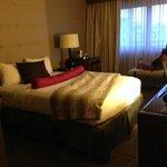 Bedroom--facing in