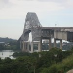 View of the Bridge of the Americas