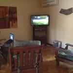 Sala con TV
