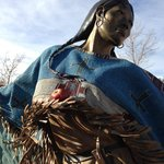 "Lakota Sioux woman ""Walks Among the Stars"""