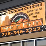 Spice Hut Indian Cuisine.