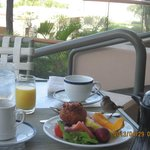 小鳥さんと朝食