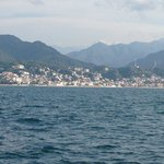 A great view of Puerto Vallarta and its famous malecon