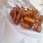 Lovely kumara chips