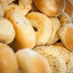 Bagels at Caffe Centro