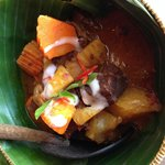 Traditional Khmer beef curry