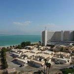 Вид из номера на отель Цель Харим