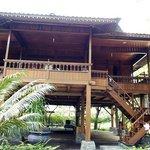 Bangau wooden cottage