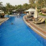 long winding pool