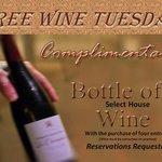 Free Wine Tuesday