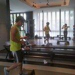 Aerobics session with Khun Fifo