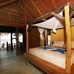 Habitacion de los bungalows de la Playa