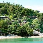 Bungalows de las rocas, excelentes vistas a la playa
