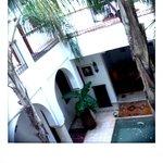 Riad's atrium