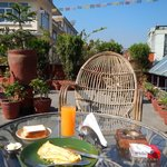 Rooftop Breakfast