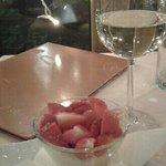 crema al mascarpone con fragole fresche