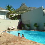 Other pool & superb view of Lion's Head