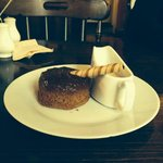 The Shoulder's Famous Sticky Toffee Pudding