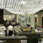 Beautiful Nizuc lobby bar