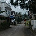 View from side street to Mekhong
