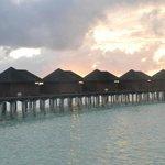 Honeymoon watervilla in Olhuveli