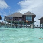 Honeymoon watervilla in Olhuveli