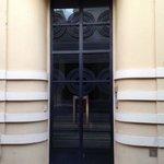 Discovered this wonderful Art Deco door in Villefrache while attending the Institut de Français.