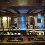 a great choice of real ales, larger and wine