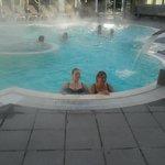 38° dans la piscine extérieure