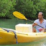 Canoe with Mr Cocoman