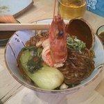 seafood glass noodle