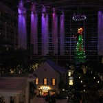 Gaylord Christmas from above