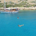 Island hopping off of Bodrum