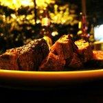 Mmmmmmh... Das leckerste Rinderfilet, das wir in ganz Costa Rica - nein: überhaupt - gegessen ha