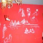 dibujos de la familia de la propietaria de origen italo-suizo