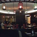 Center of dining room
