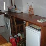 Кухня (холодильник и стиральная машина)