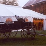The Perfect locale for a beautiful tented wedding reception