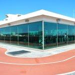 Palestra e pista sul tetto