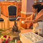 Coffee Ceremony for Ethiopian New Year at Kings