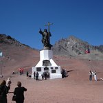Cristo Redentor, limite con Chile