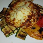 Smoked scamorze with grilled vegetables - Divine