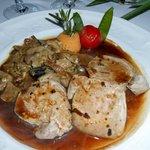 Filet mignon de porc sauce périgourdine