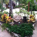 One of many beautiful garden displays