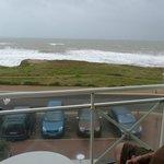 terrasse privative et vue sur la mer