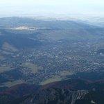View of Zakopane from Giewont