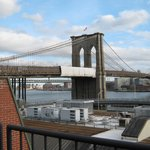 The Brooklyn Bridge from room 703